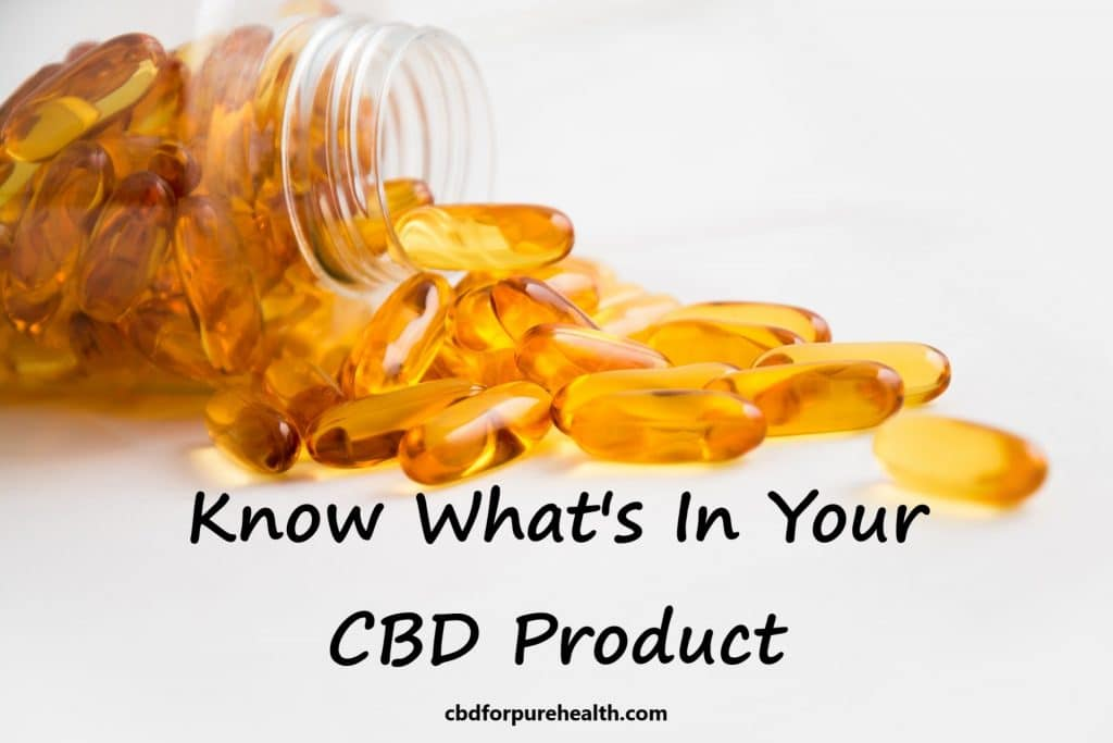 Find the Best CBD Products by Understanding Labels and Lab Results | cbdforpurehealth.com