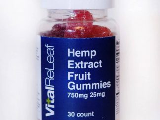 VitalReLeaf Hemp Extract Gummies product image