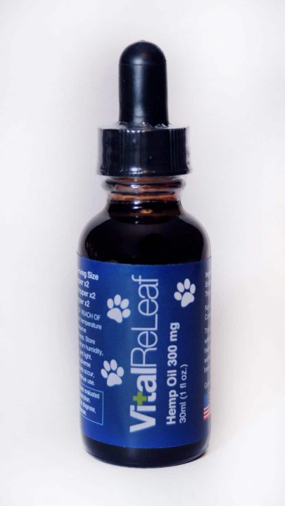 VitalReleaf CBD Pet Tincture front label