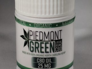 piedmont green cbd capsules pic of the bottle