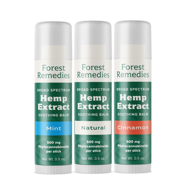 Forest Remedies CBD Soothing Balms