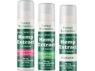 Forest Remedies CBD Lip Balms