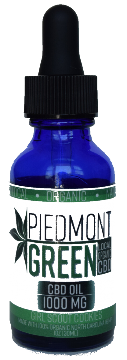 piedmont green cbd oil tincture bottle