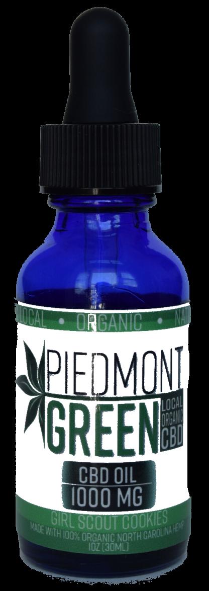 piedmont green cbd oil tincture bottle