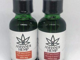 Ashandi Hemp CBD Tinctures