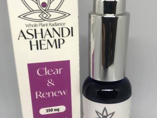 Clear and renew cbd facial serum
