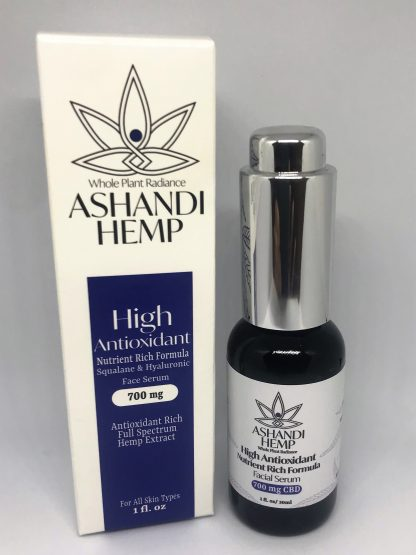 high antioxidant cbd facial serum