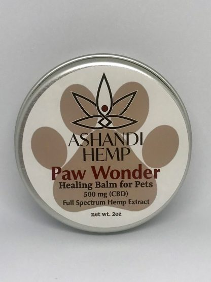 CBD healing balm for pet paws