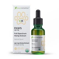 clean remedies cbd pet tincture 350mg